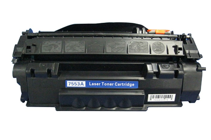 Compatible HP Q7553A (53A) Toner Print Cartridge - Black