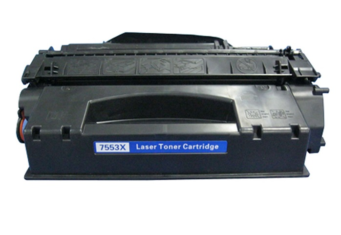 Compatible HP Q7553X (53X) Black Toner Cartridge - High Yield