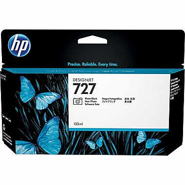 HP 727-PB (B3P23A) Photo Black Ink Cartridge