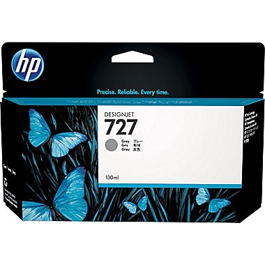 HP 727-GY (B3P24A) Gray Ink Cartridge