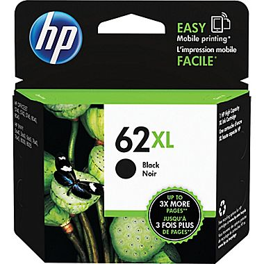HP C2P05AN (HP 62XL) High Yield Black Ink Cartridge