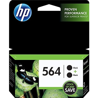 HP C2P51FN (564) Black Ink Cartridge 2-Pack