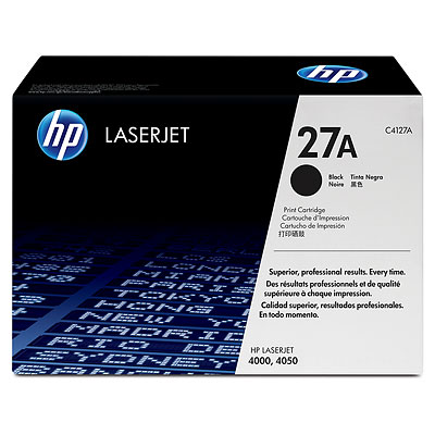 HP C4127A (27A) Black Toner Cartridge - Standard Yield
