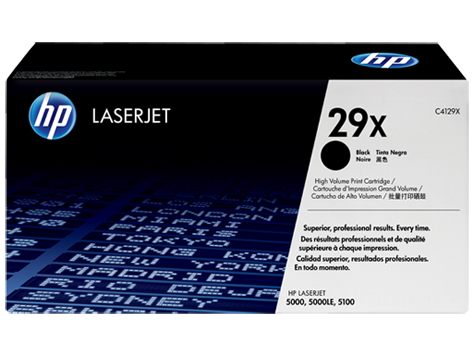 HP C4129X (29X) Black Toner Cartridge