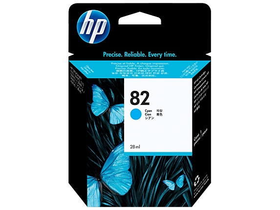 HP C4911A (82) Cyan Ink Cartridge