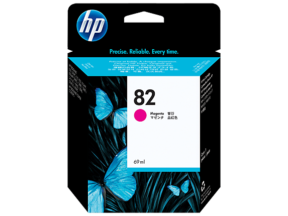 HP C4912A (82) Magenta Ink Cartridge