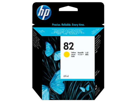 HP C4913A (82) Yellow Ink Cartridge