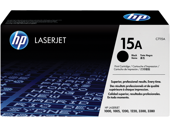 HP C7115A (15A) Black Toner Cartridge - Low Yield