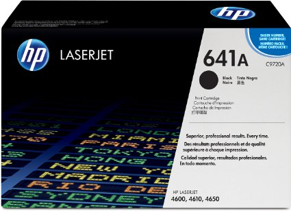 HP C9720A (641A) Black Toner Print Cartridge