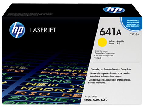 HP C9722A (641A) Yellow Toner Cartridge