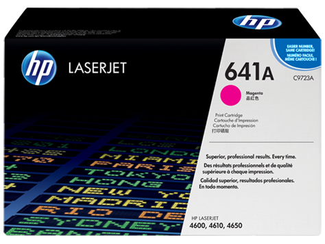 HP C9723A (641A) Magenta Toner Print Cartridge