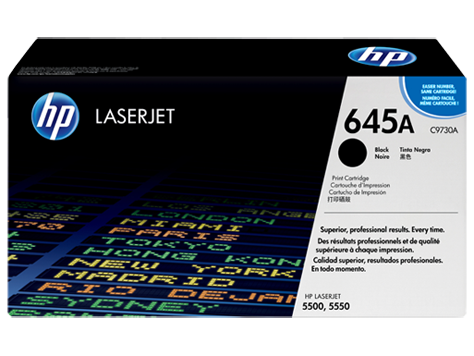 HP C9730A (645A) Black Toner Cartridge