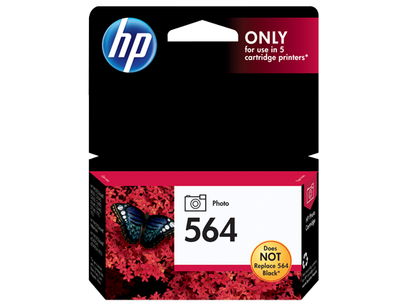 HP CB317WN (564) Photo Black Ink Cartridge