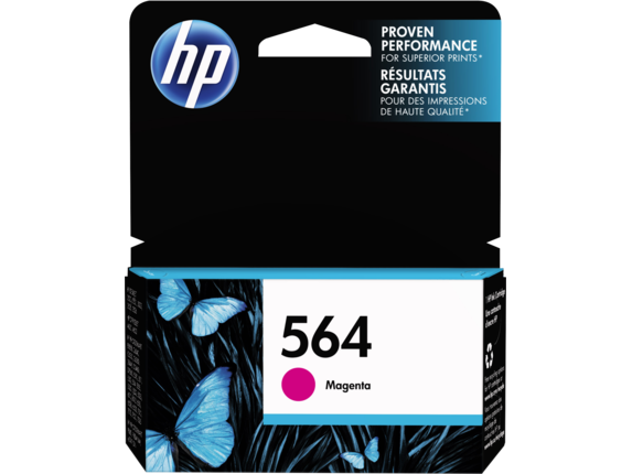 HP CB319WN (564) Magenta Ink Cartridge