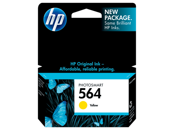 HP CB320WN (564) Yellow Ink Cartridge