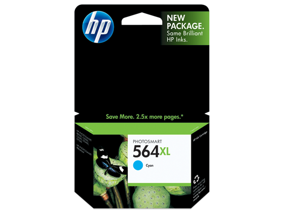 HP CB323WN (564XL) Cyan Ink Cartridge