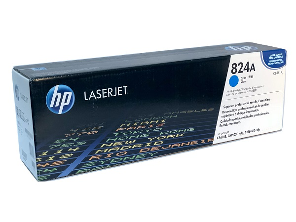 HP CB381A (824A) Cyan Toner Print Cartridge