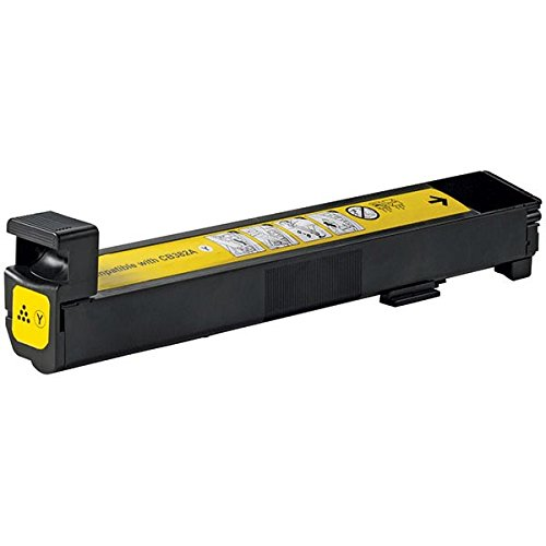 Compatible HP CB382A (824A) Yellow Toner / Print Cartridge