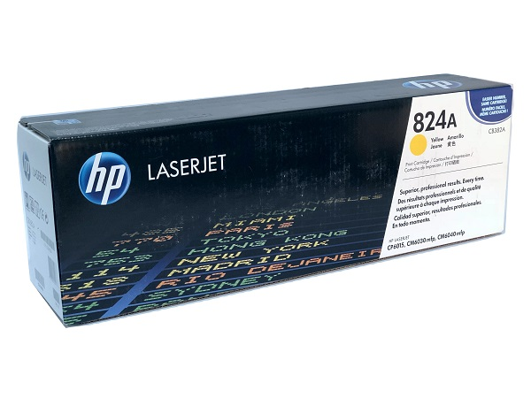 HP CB382A (824A) Yellow Toner / Print Cartridge