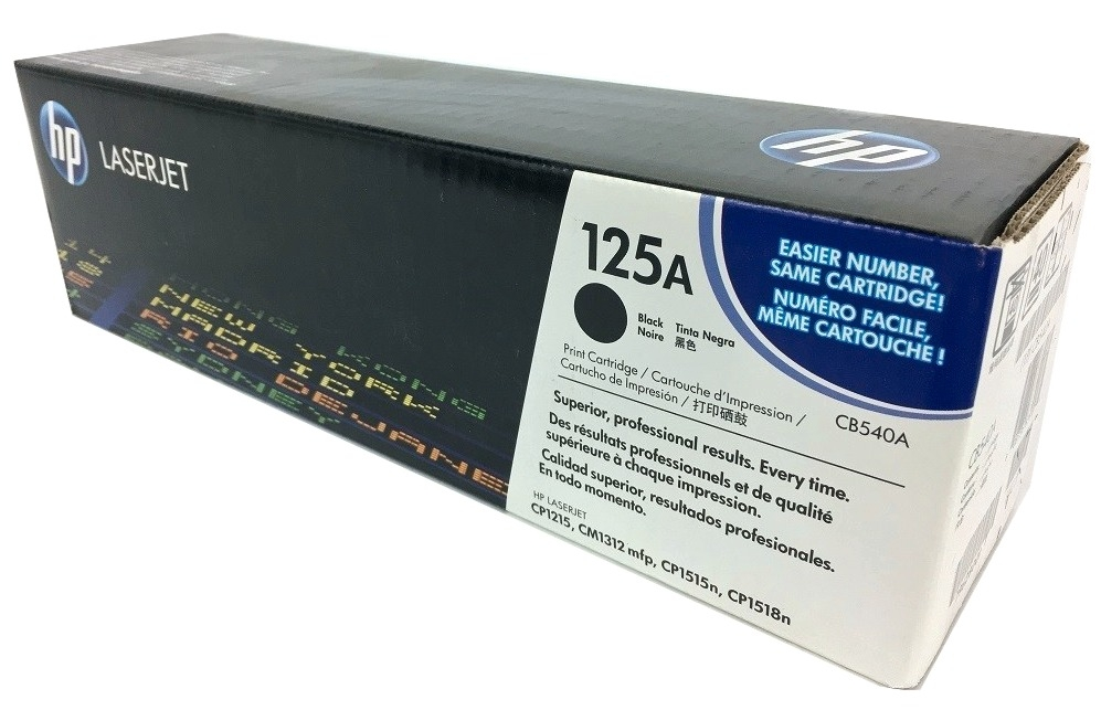 HP CB540A (125A) Black Toner Cartridge