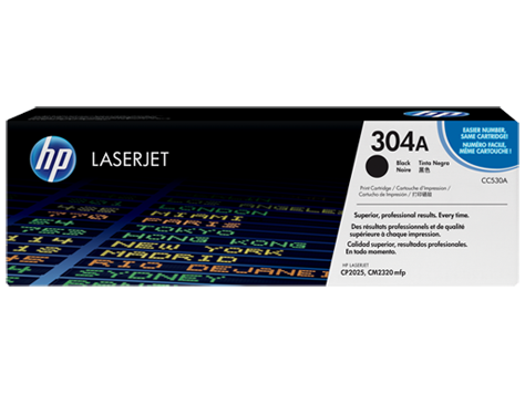 HP CC530A (304A) Black Toner / Drum Cartridge