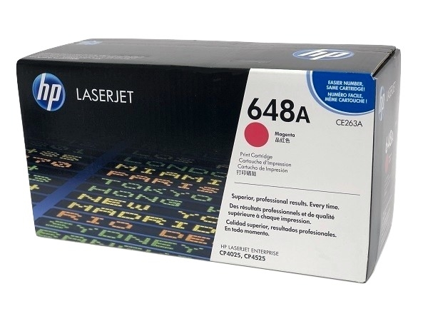 HP CE263A (648A) Magenta Toner Cartridge