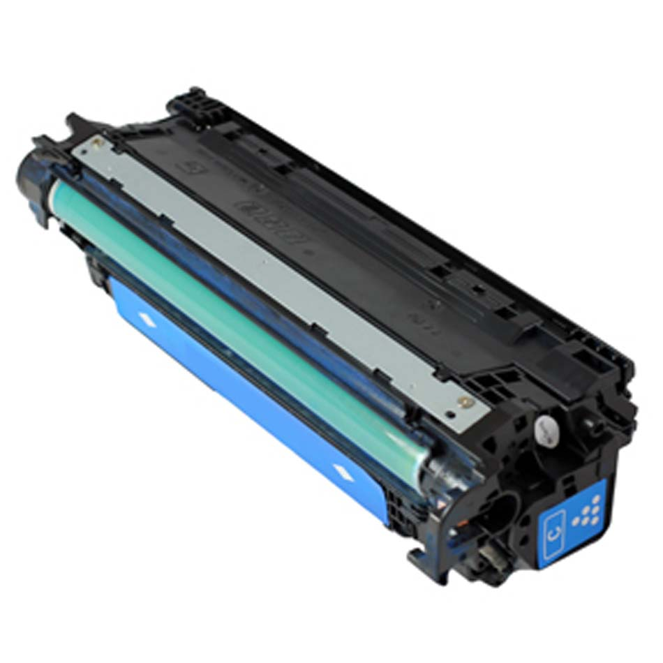 Compatible HP CE271A (650A) Cyan Toner Cartridge