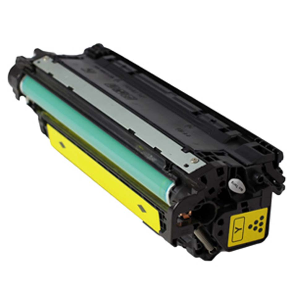 Compatible HP CE272A (650A) Yellow Toner Cartridge