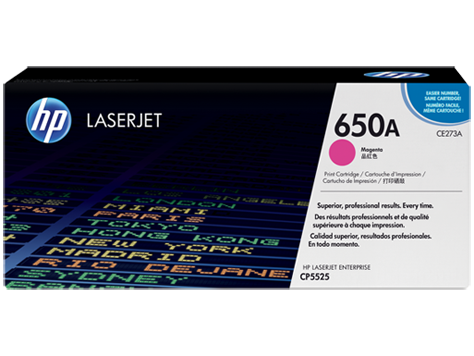 HP CE273A (650A) Magenta Toner Cartridge