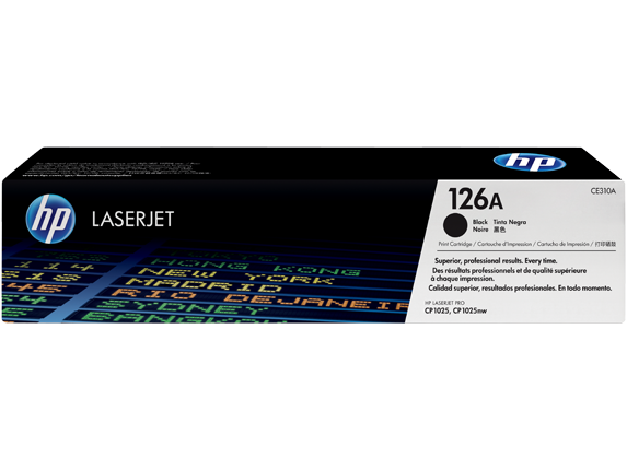 HP CE310A (126A) Black Toner Cartridge