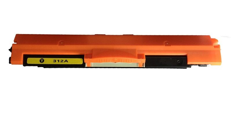 Compatible HP CE312A (126A) Yellow Toner Cartridge