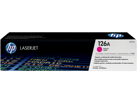 HP CE313A (126A) Magenta Toner Cartridge