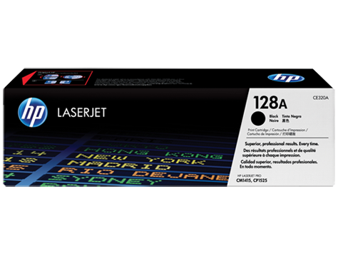 HP CE320A (128A) Black Toner Cartridge
