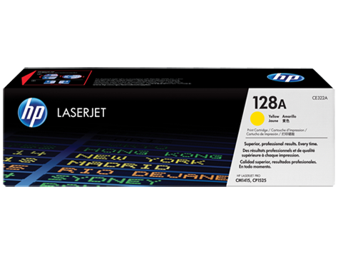 HP CE322A (128A) Yellow Toner Cartridge