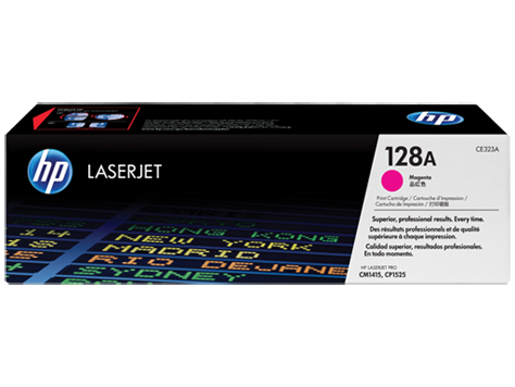 HP CE323A (128A) Magenta Toner Cartridge