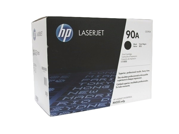 HP CE390A (90A) Black Toner Cartridge