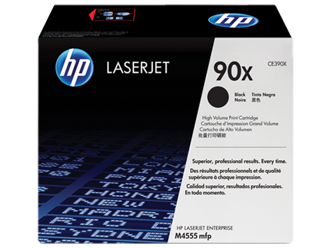 HP CE390X (90X) Black Toner Cartridge - High Yield
