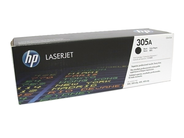 HP CE410A (305A) Black Toner / Drum Cartridge