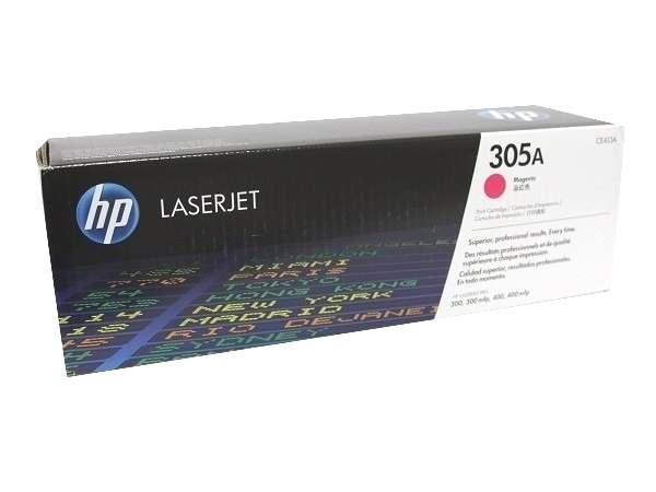 HP CE413A (305A) Magenta Toner / Drum Cartridge