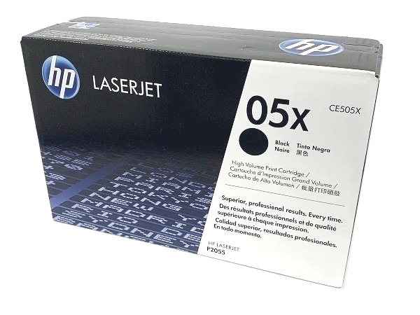 HP CE505X (05X) Black High Yield Toner Cartridge