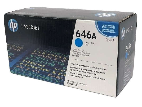 HP CF031A (646A) Cyan Toner Cartridge