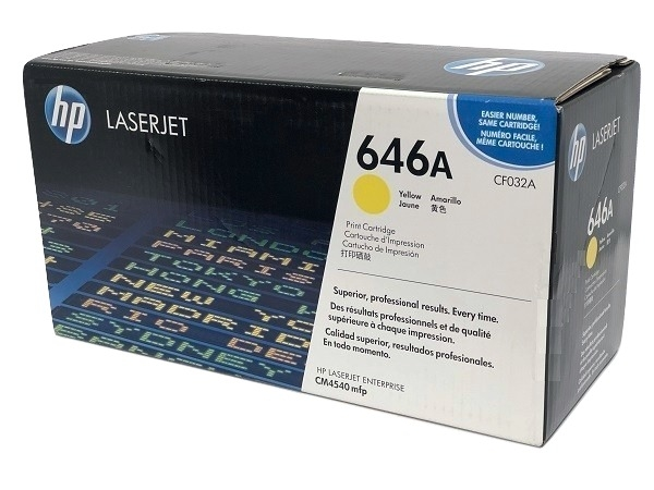 HP CF032A (646A) Yellow Toner Cartridge