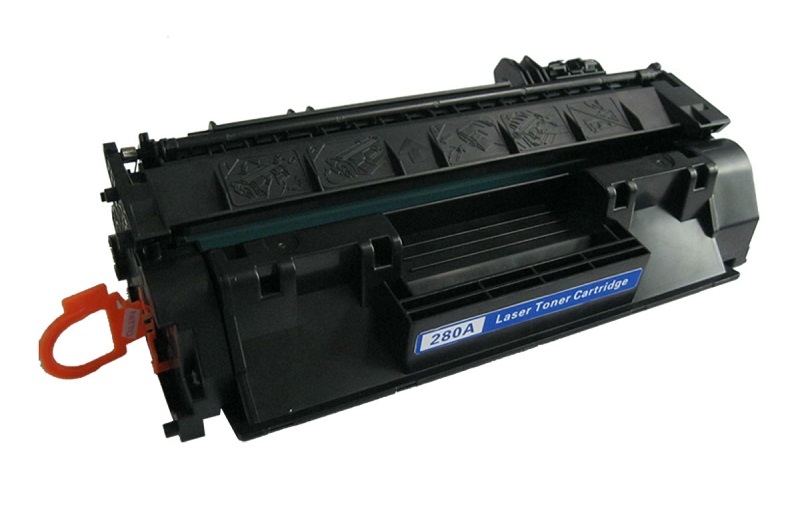 Compatible HP CF280A (80A) Black Toner Cartridge - Standard Yield