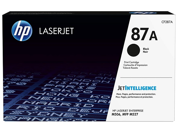 HP CF287A (87A) Black High Yield Toner Cartridge