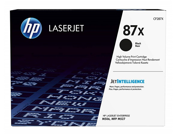 HP CF287X (87X) Black High Yield Toner Cartridge
