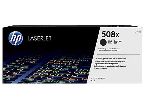HP CF360X (508X) Black High Yield Toner Cartridge