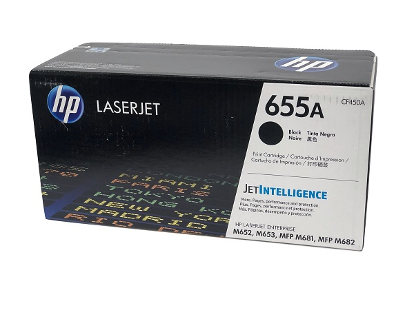 HP CF450A (655A) Black Toner Cartridge