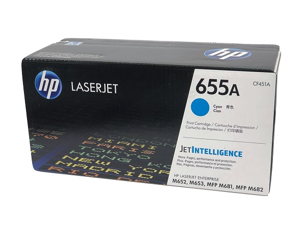 HP CF451A (655A) Cyan Toner Cartridge