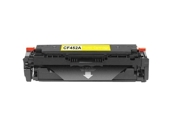 Compatible HP CF452A (655A) Yellow Toner Cartridge