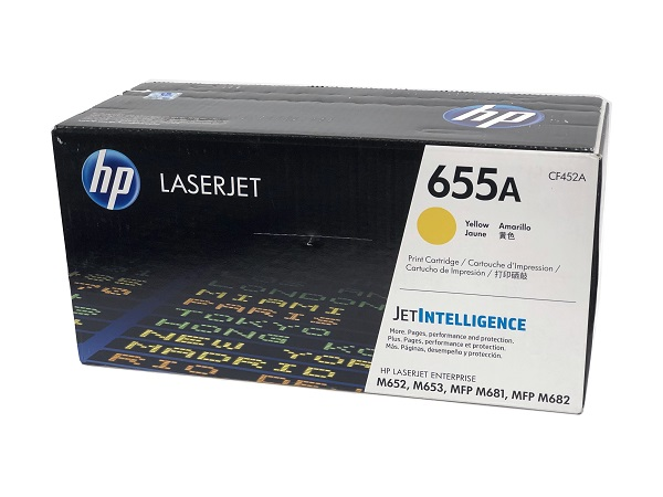 HP CF452A (655A) Yellow Toner Cartridge